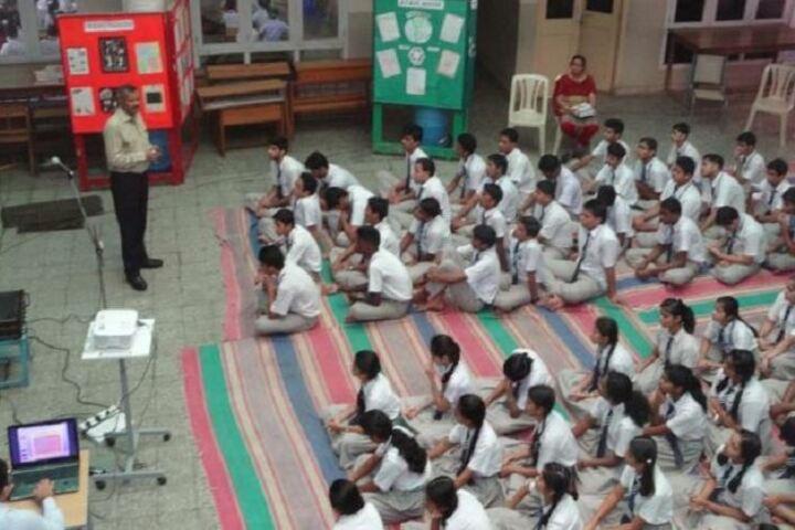 Jindal Vidya Mandir-Speech by Army Person