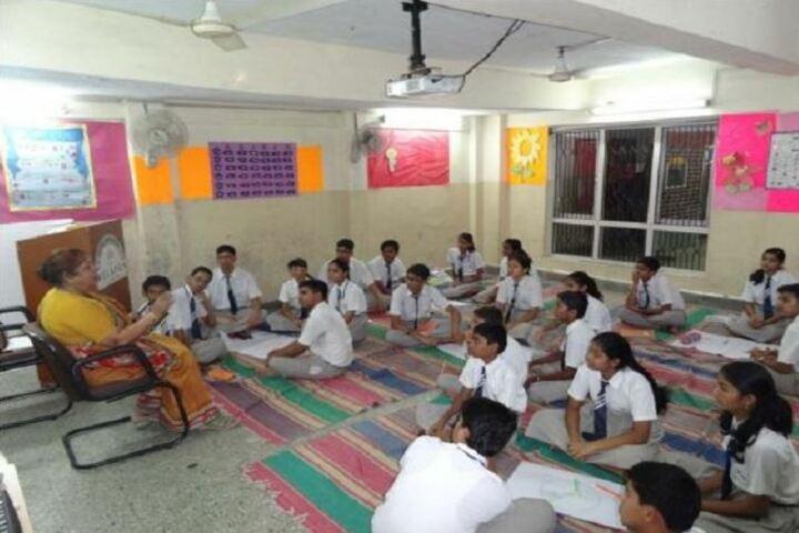 Jindal Vidya Mandir-Students Workshop