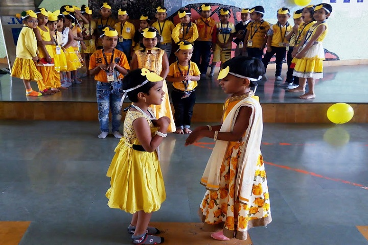 Jindal Vidya Mandir-Primary Section Yellow Day Celebrations