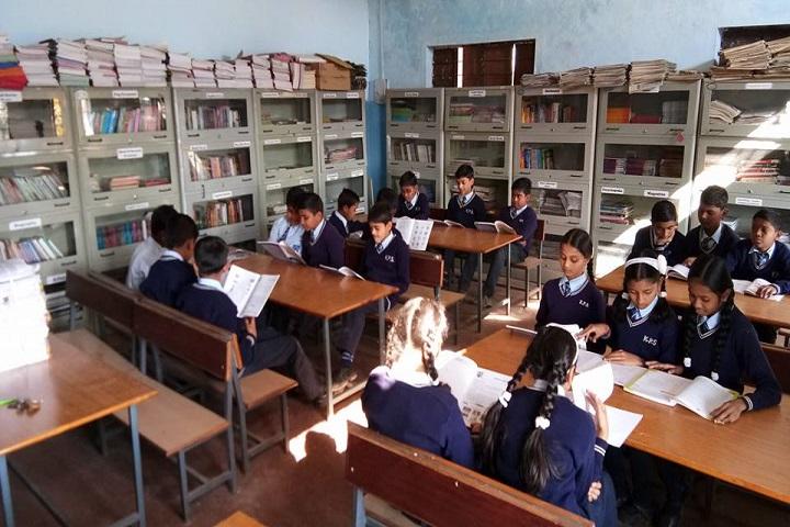 K P Asati Public School-Library