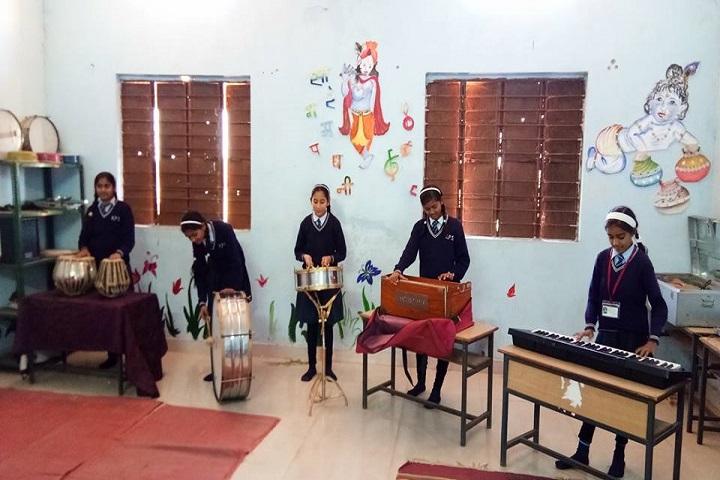 K P Asati Public School-Music room