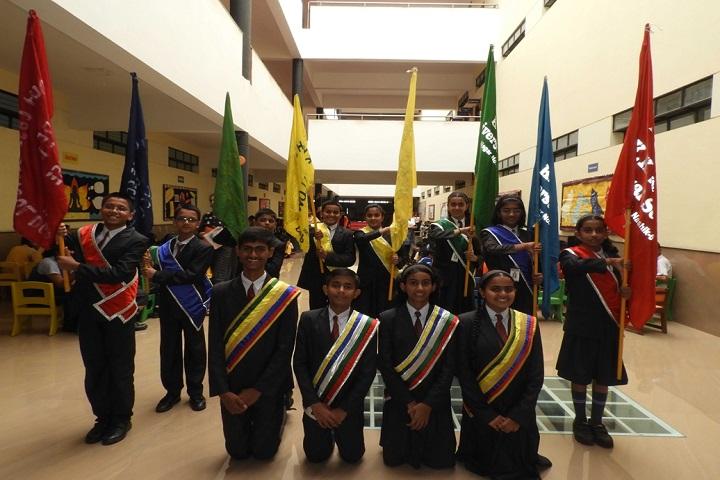 KK Wagh Universal School-Investiture Ceremony