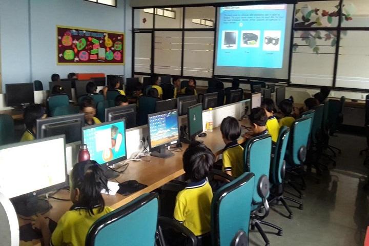 K.K. Wagh Universal School-Computer Lab