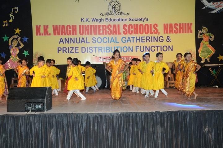 K.K. Wagh Universal School-Annual Day