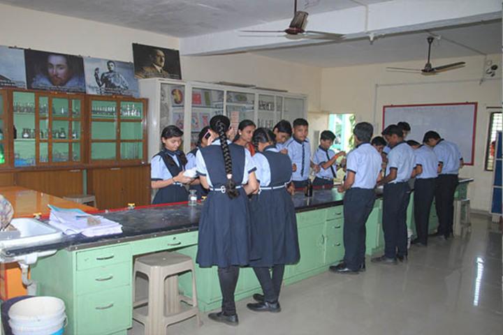 Kanaiyalal Raojibhai Public School-Biology Lab