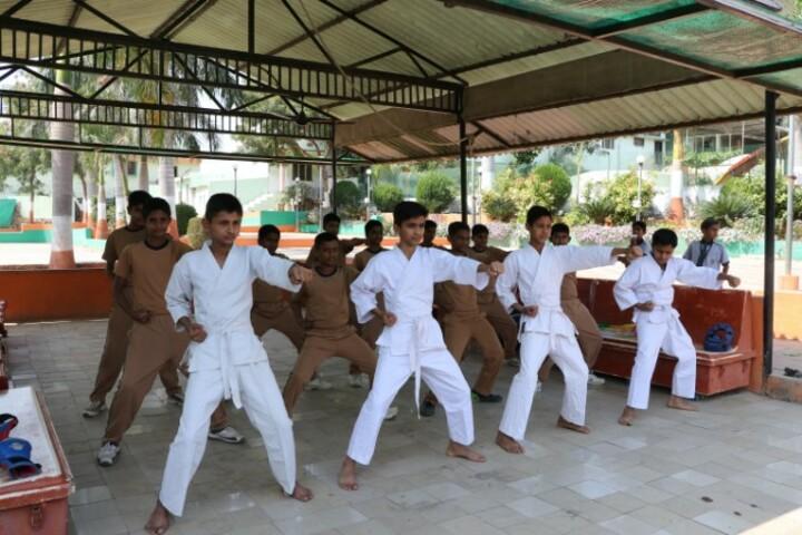 Kanaiyalal Raojibhai Public School-Karate