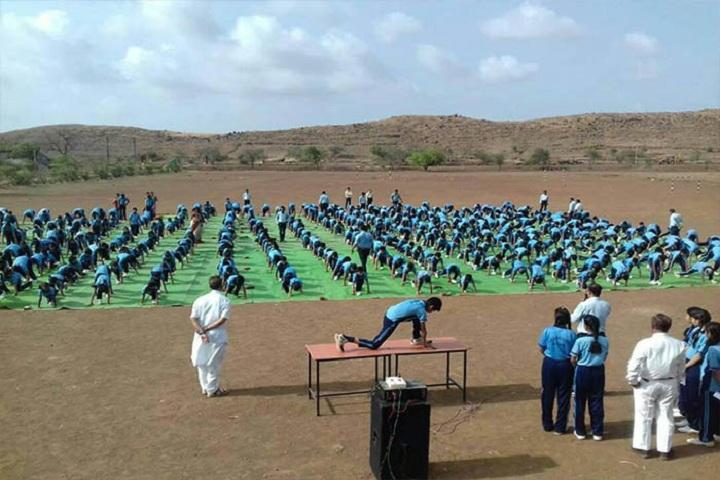 Kanaiyalal Raojibhai Public School-Yoga Day