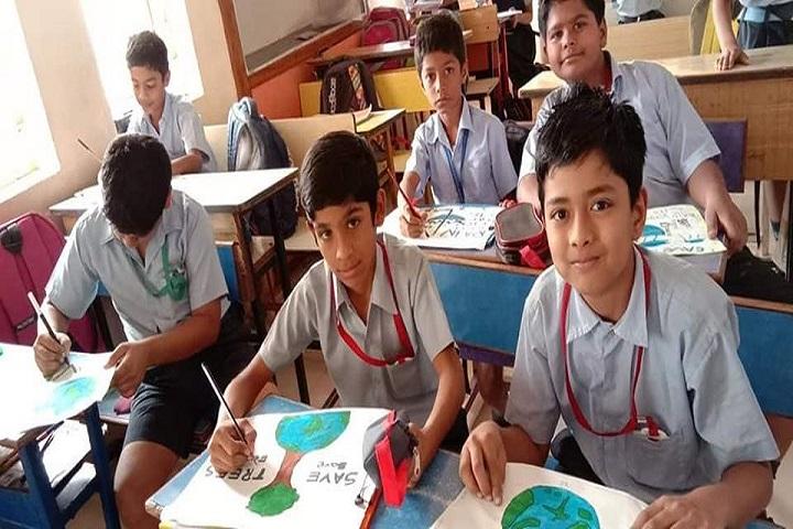 Kashinath Palod Public School-Drawing Activity