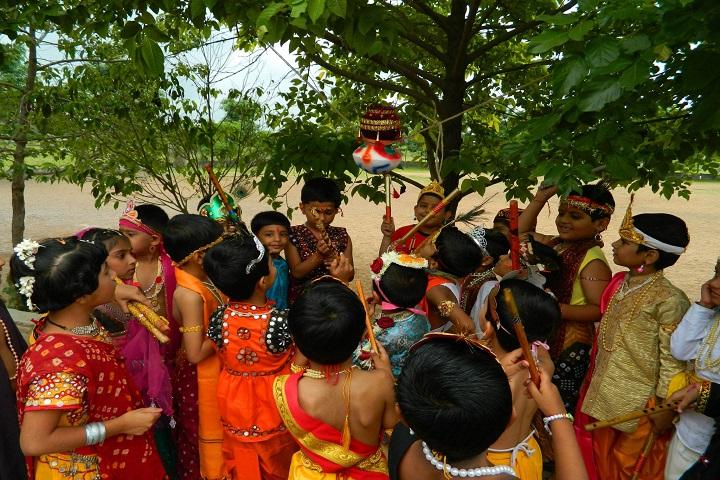 Kashinath Palod Public School-Janmashtami Celebrations