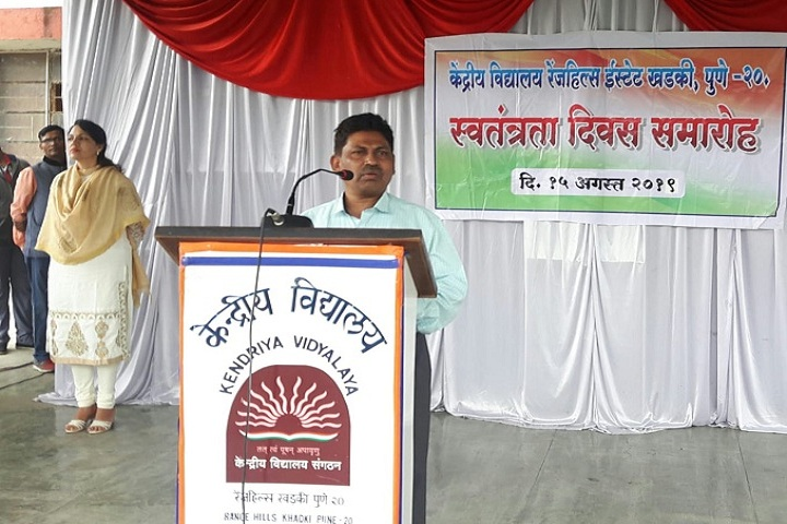 Kendriya Vidyalaya-Speaker