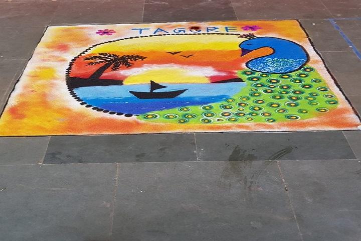 Kendriya Vidyalaya-Rangoli Competition