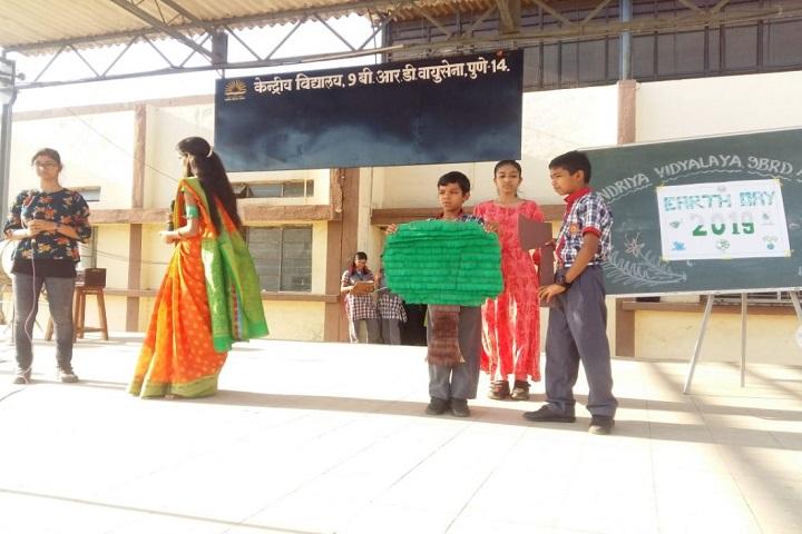 Kendriya Vidyalaya No 3-Earth Day