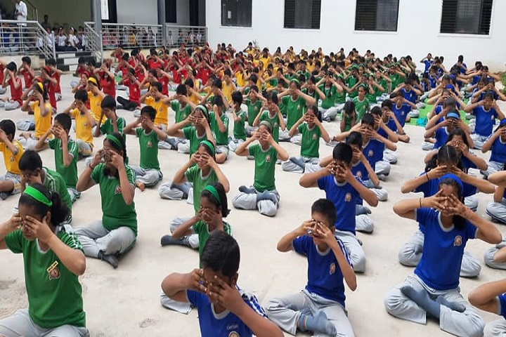 Kidees Info Park-Yoga Day