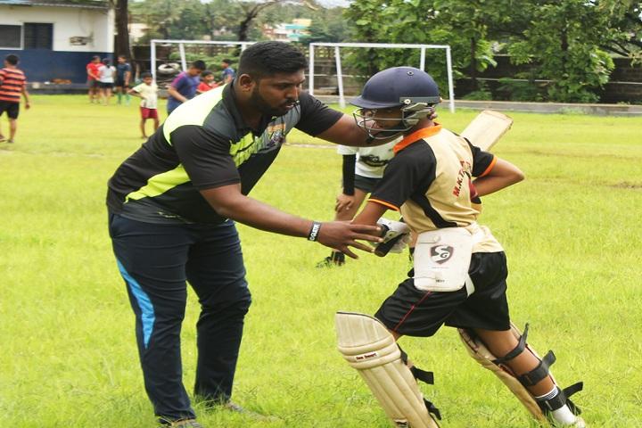 Kolhapur Public School-Sports cricket