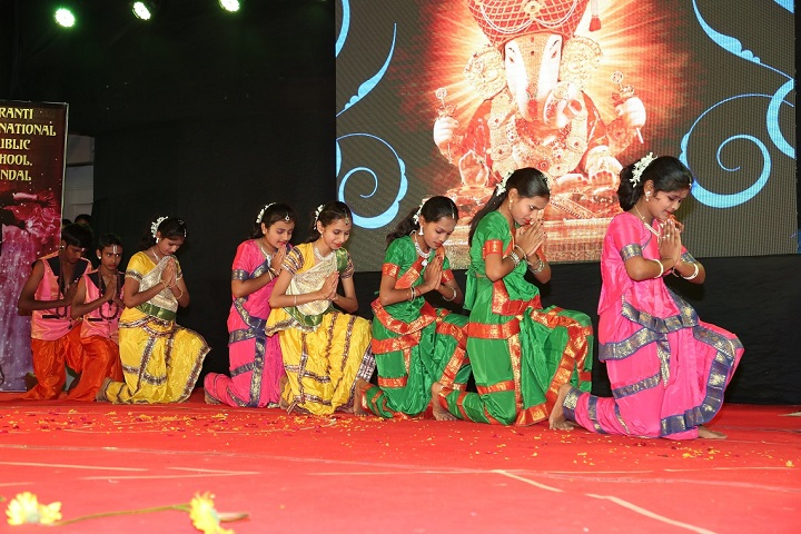 Kranti International Public School-Events function