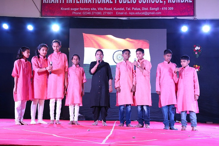 Kranti International Public School-Others singing