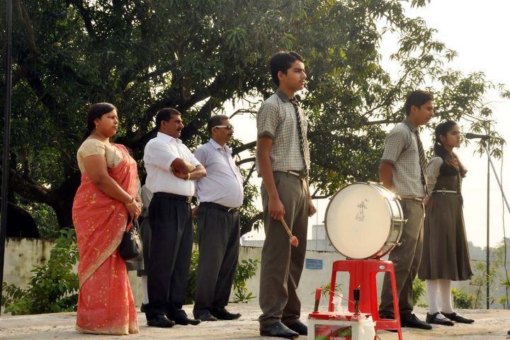 Darbhanga Public School-Assembly Ground