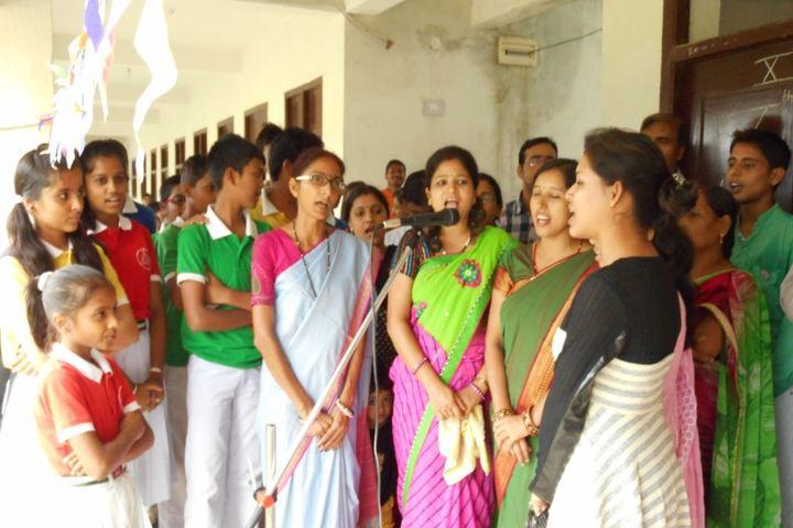 Darbhanga Public School-Singing