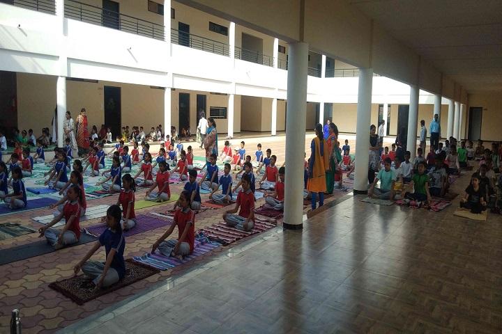 L H Patil English Medium School-Yoga
