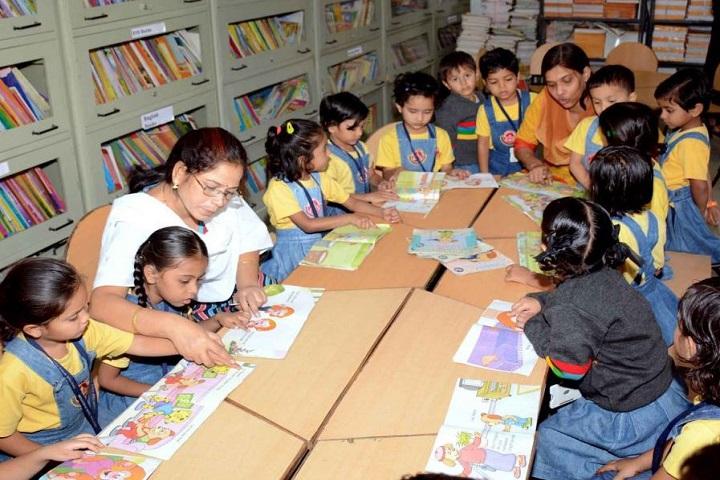 Lalitha Public School-Library