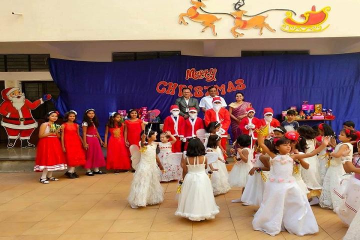 Late Madangopalji Bhaiya Public School-Christmas