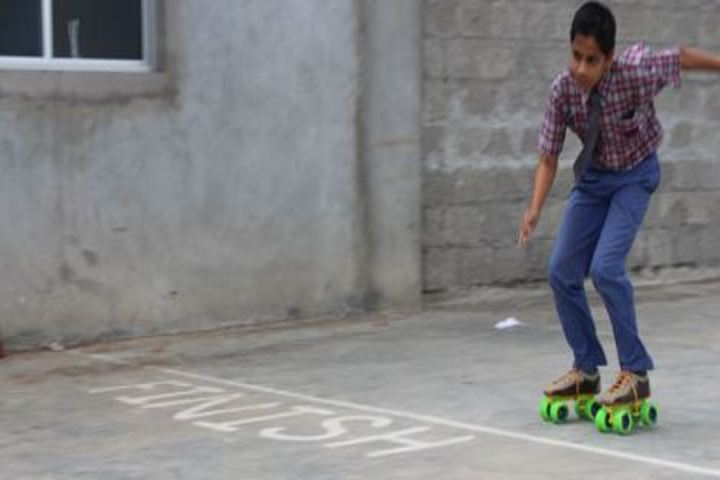 Late Mrs Housabai Jaypal Magdum Public School-Skating Activity