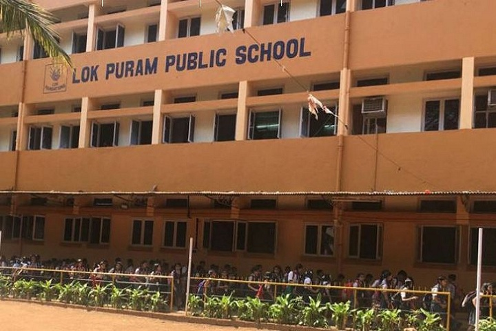 Lok Puram Public School-Campus view