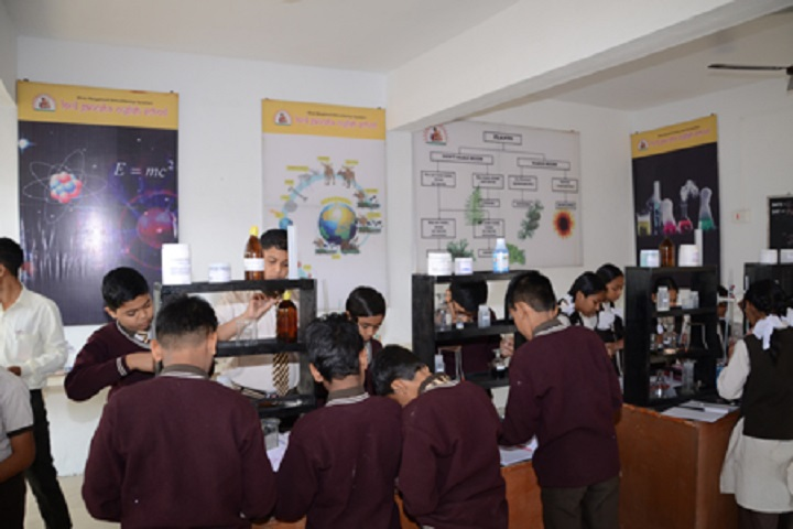 Lord Ganesha English School-Laboratory