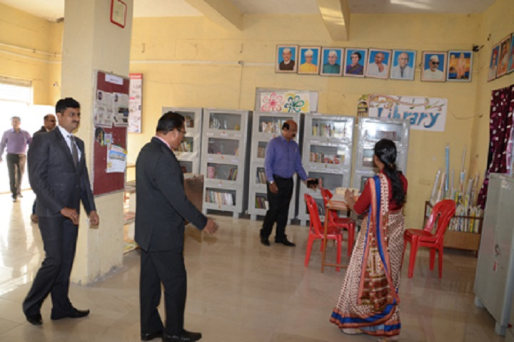 Lord Ganesha English School-Library
