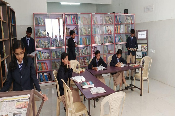 Lotus English Medium School-Library