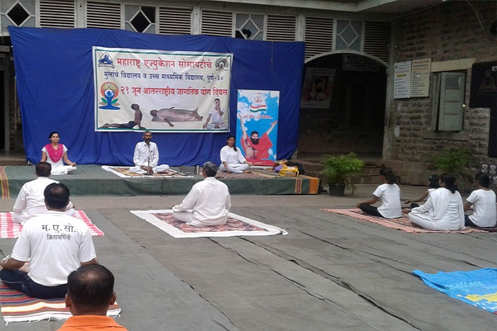 MES Bhave High School-Yoga