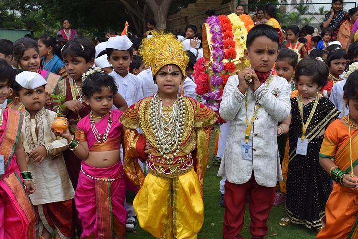 Maeers Vishwashanti Gurukul School-Festival Celebrations