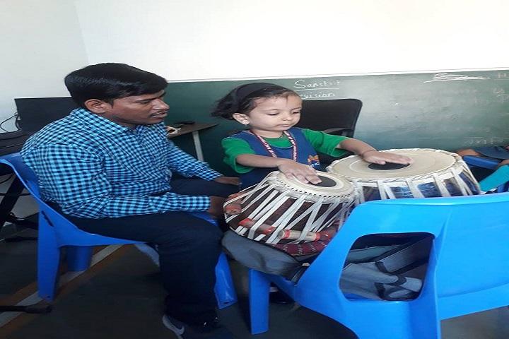 Maeers Vishwashanti Gurukul School-Music Room