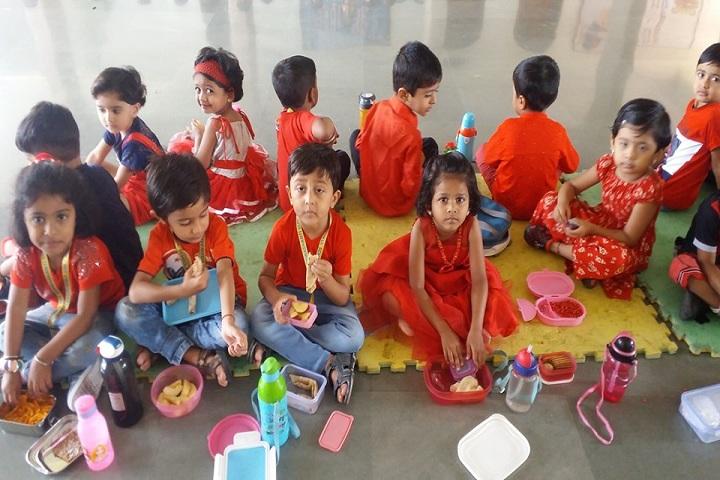 Maeers Vishwashanti Gurukul School-Red Day