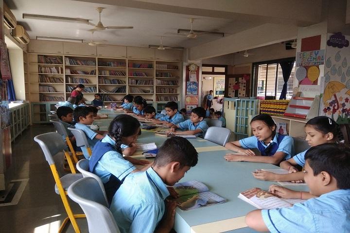 Mahapragya Public School-Library