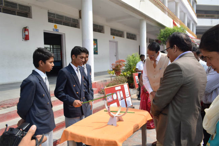 Maharashtra Public School-Science Exhibition