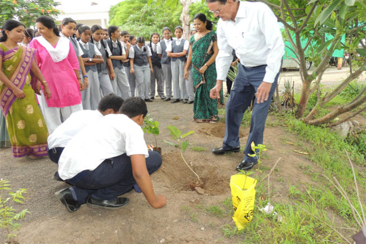 Maharashtra Public School-Tree Plantation