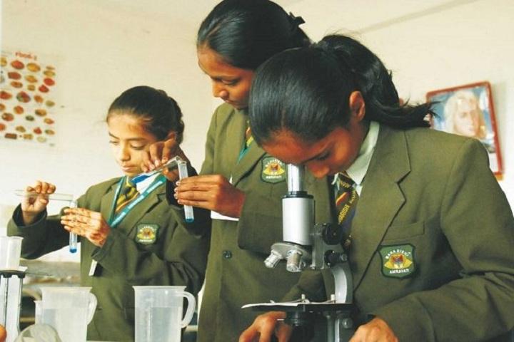 Maharishi Public School-Chemistry Lab