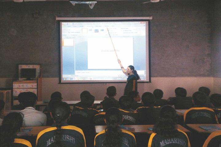 Maharishi Public School-Classroom