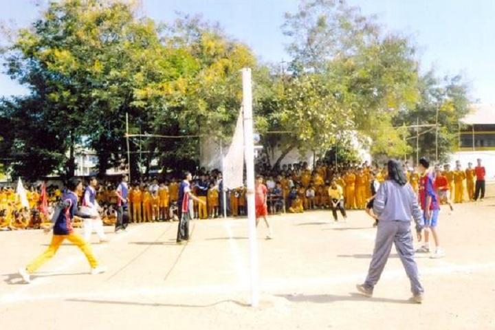 Maharishi Vidya Mandir-Sports vollyball