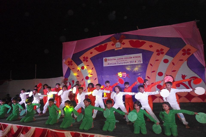 Mahatma Gandhi English School-Dance