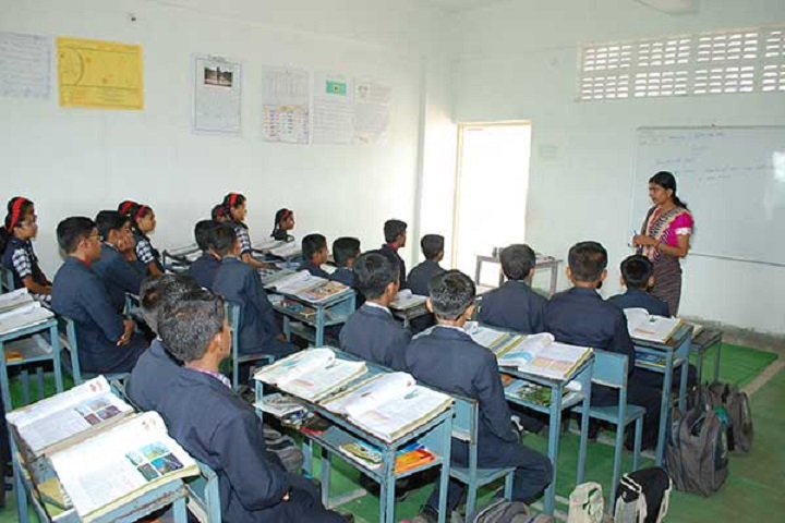 Mahatma Gandhi English School-Classroom