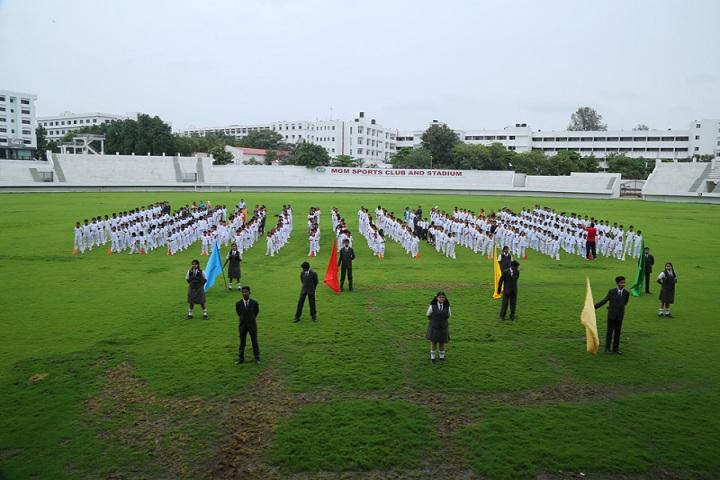 Mahatma Gandhi Missions Clover Dale School-Assembly