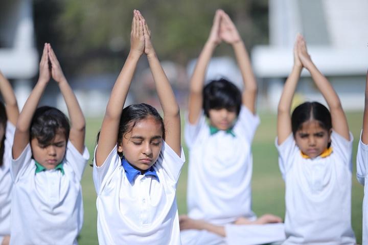 Mahatma Gandhi Missions Clover Dale School-Yoga