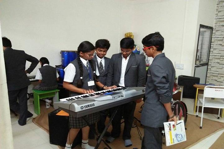 Mahatma Gandhi Missions Clover Dale School-Music room