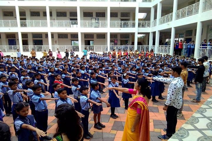 Mahatma Gandhi Shikshan Mandal Sanchalit Oxford English Medium School-Assembly