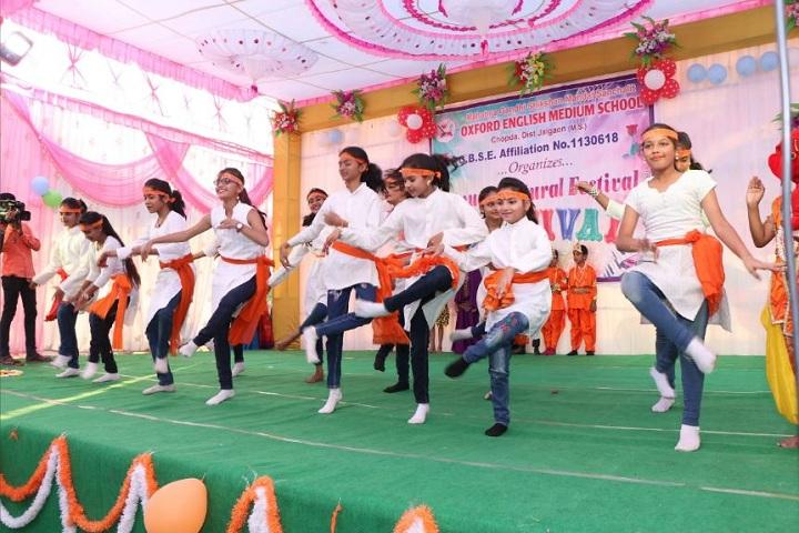 Mahatma Gandhi Shikshan Mandal Sanchalit Oxford English Medium School-Dance