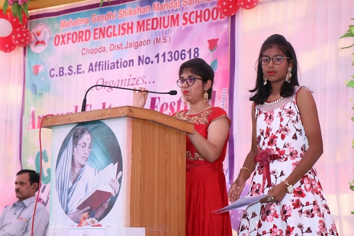 Mahatma Gandhi Shikshan Mandal Sanchalit Oxford English Medium School-Speaker