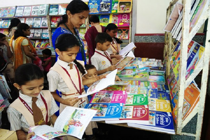 Mahatma International School-Book exhibition