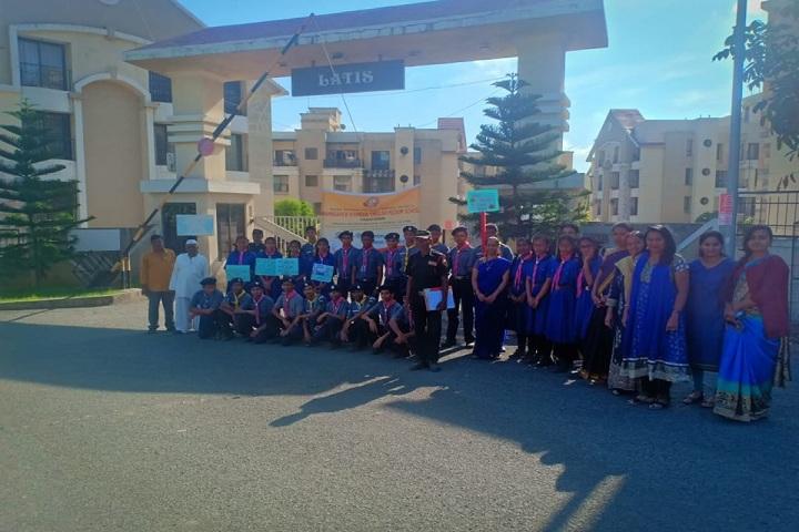 Mamasaheb Khandge English Medium School-Blue Day